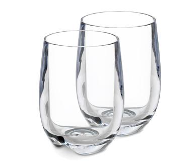 Plastglas vinglas